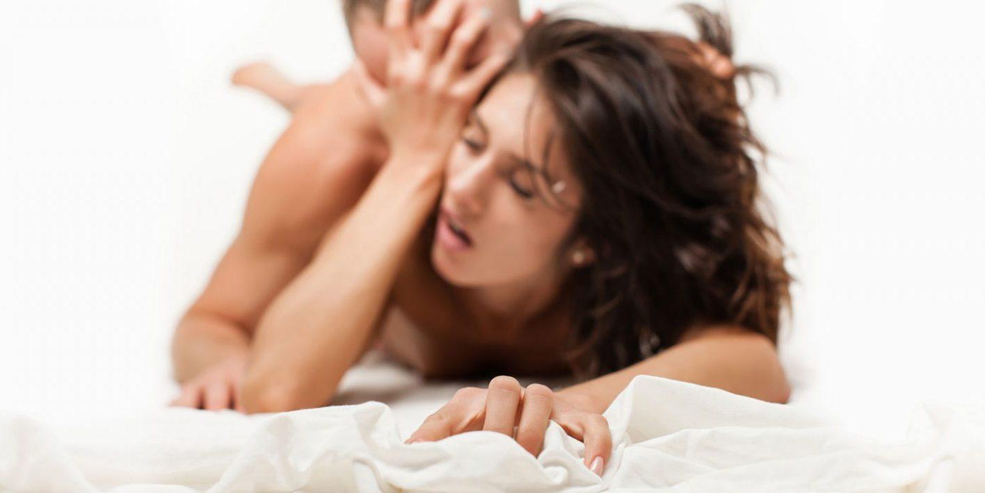 Massasjestav - bilde av par som har sex