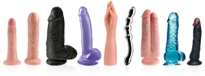 Stort utvalg av dildoer, hvilken dildo passer for deg?