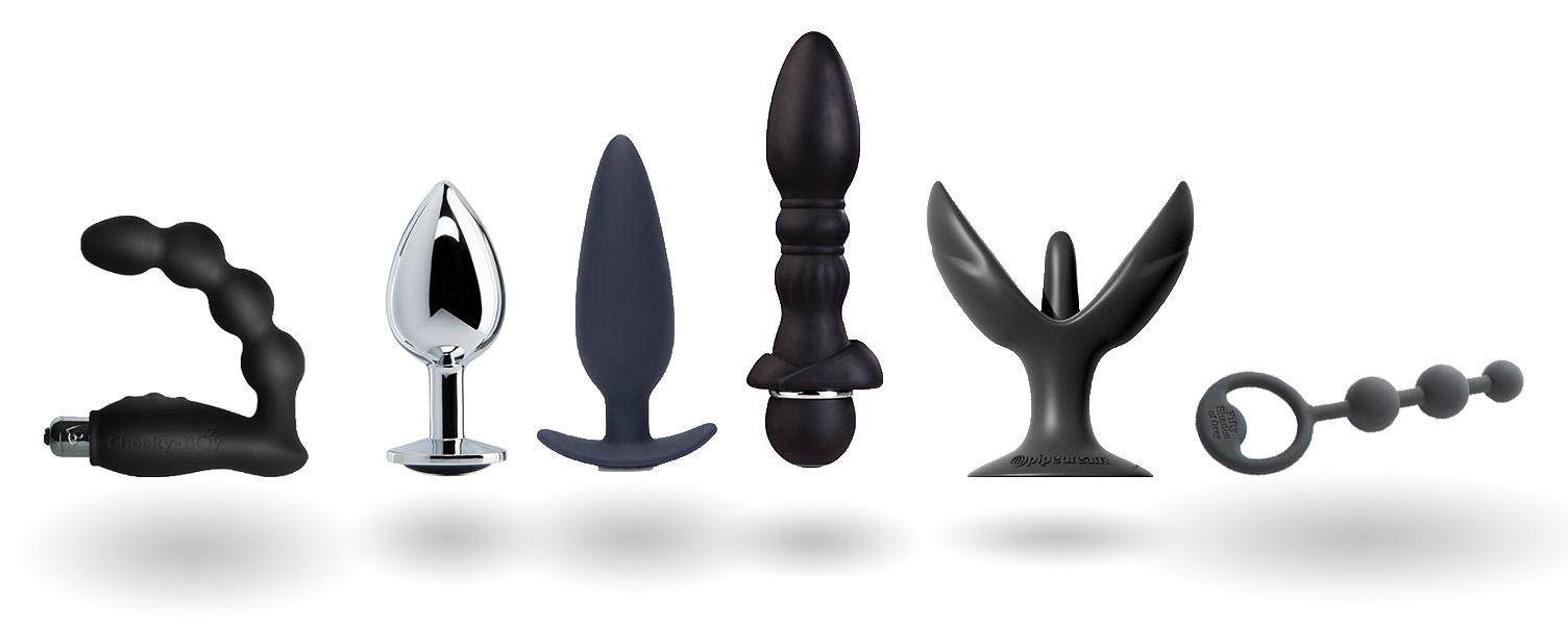 analsex - egnede leketøy